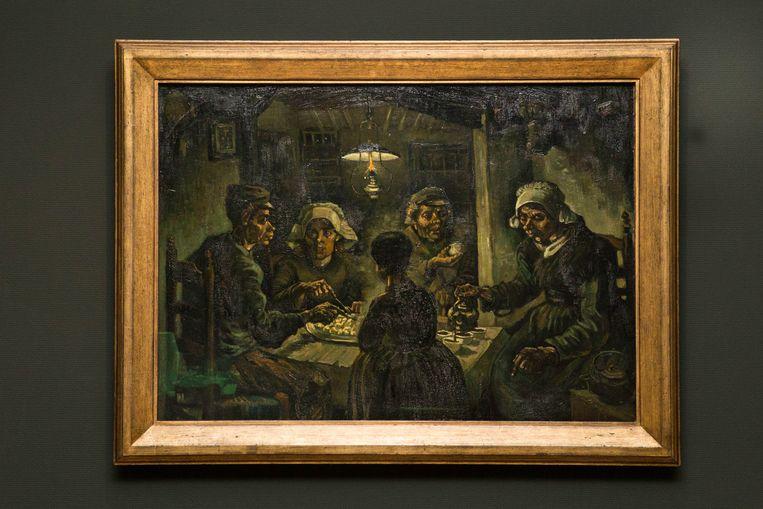 De aardappeleters (1885). Beeld Cigdem Yuksel