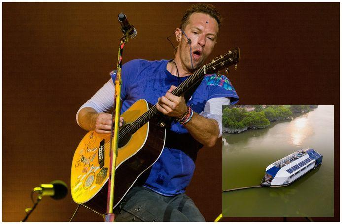 Coldplay-zanger Chris Martin en de Interceptor