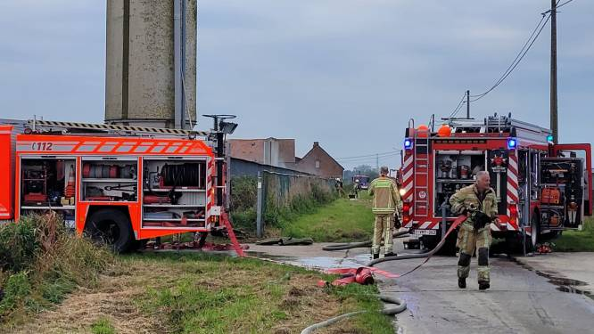 Brand uitgebroken bij enige patrijzenboerderij van het land