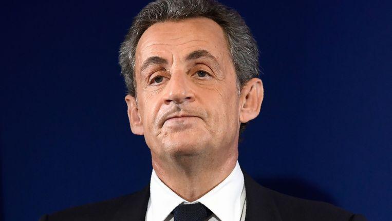 Oud-president van Frankrijk Nicolas Sarkozy. Beeld AFP