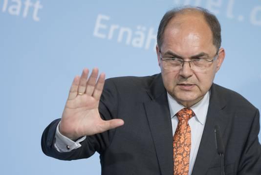 Duits landbouwminister Christian Schmidt.