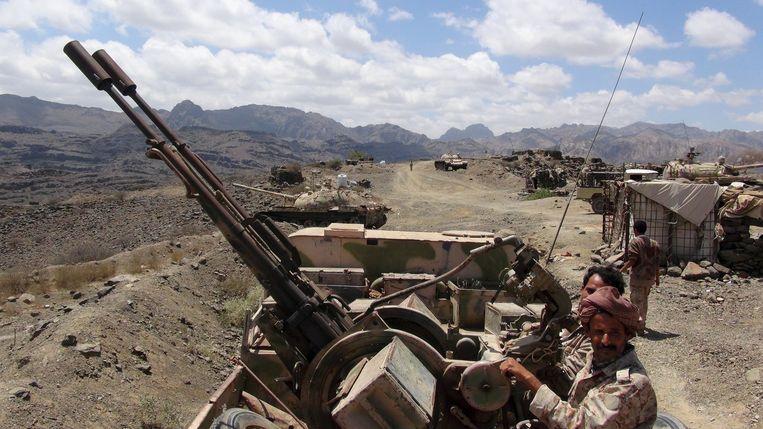 Jemenitische troepen. Beeld reuters