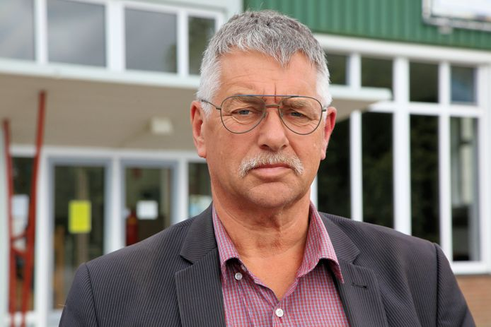 Veilingdirecteur David Hage.