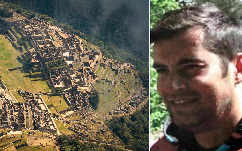 De Peruviaanse politie vermoedt dat de Belg in de buurt van Machu Picchu ronddwaalt en intussen niet meer op deze foto lijkt.