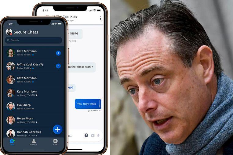 Operatie Sky zal nog heel wat connecties met de bovenwereld blootleggen, belooft Bart De Wever. Beeld RV/Isopix