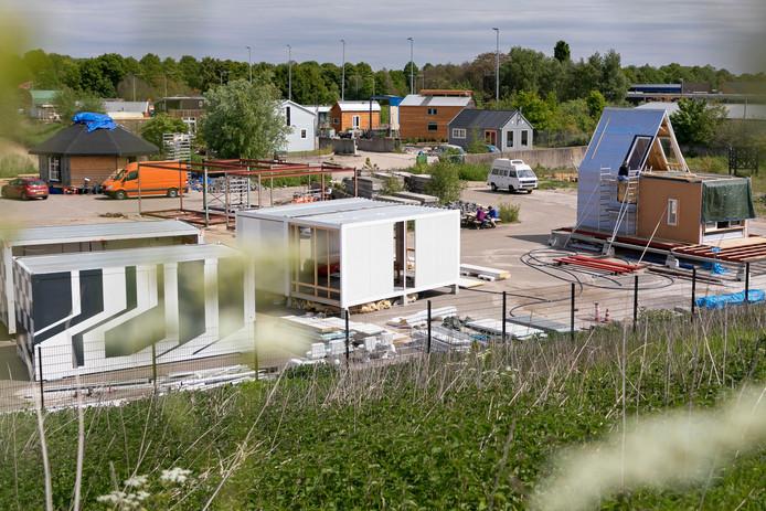Tiny houses in Minitopia aan de Poeldonkweg Den Bosch.