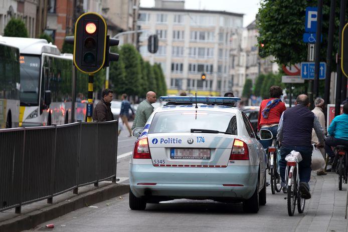 Ook politiewagens zullen op de Turnhoutsebaan geen fietsers meer mogen inhalen