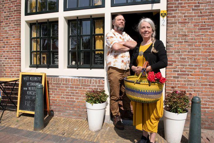 Meerten Huisman en Hanneke Apon voor restaurant KingsDish.
