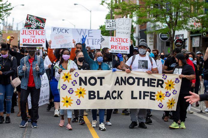 Demonstratie in Toronto.