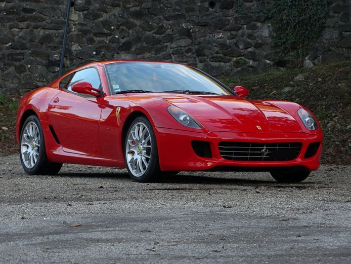 De zakenauto van Michael Schumacher: een Ferrari 599 GTB