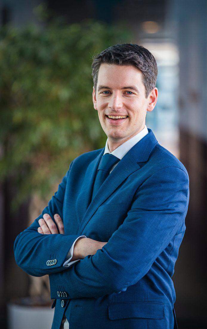 Wethouder Rijssen-Holten, Erik Wessels (CDA).