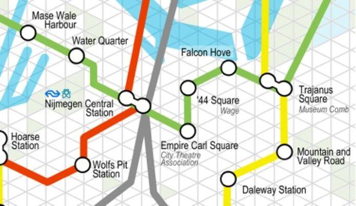 Nijmeegse geschenken: de metrokaart
