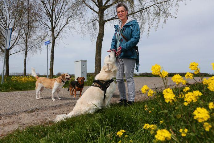 Wilma de Joode van stichting Sterk voor Dieren.