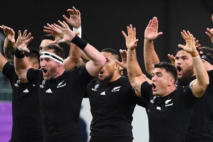 De All Blacks, de nationale rugbyploeg van Nieuw-Zeeland, zien hun wedstrijd geschrapt.