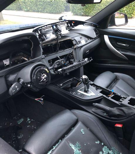 Autokrakers slaan toe: 'Het was weer BMW-nacht in Nesselande'
