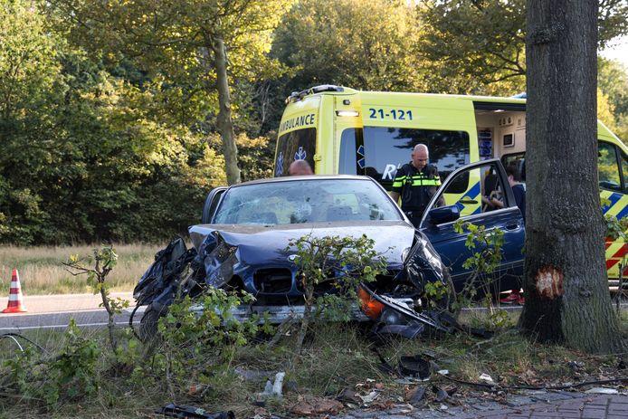 Ambulance ter plaatse in Veghel.