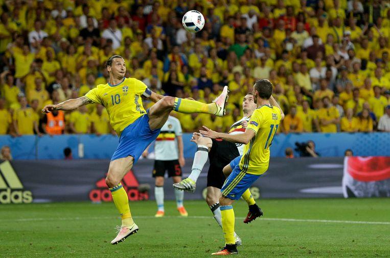 Zlatan Ibrahimovic. Beeld AP
