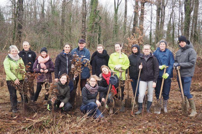 In december 2018 verzorgde de faculteit Economie van de Ugent al een kleine boomplantactie in de Geelstervallei