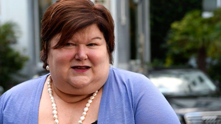 Maggie De Block, minister van volksgezondheid. Beeld BELGA
