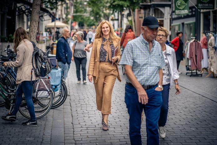 De Nijmeegse wethouder Harriët Tiemens (GroenLinks)wil snel grote stappen kunnen zetten bij de omschakeling naar aardgasvrij wonen.