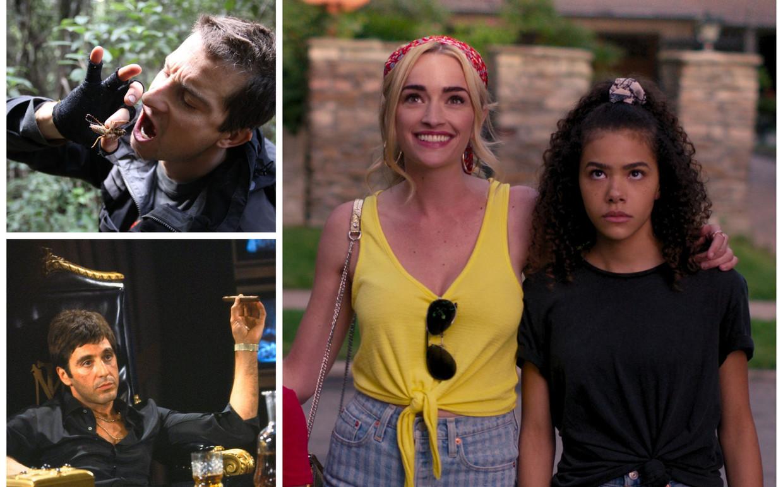 Bear Grylls, 'Scarface' en 'Ginny & Georgia'