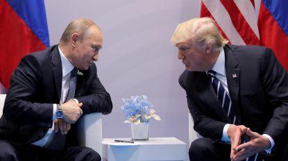 Poetin wil graag gesprek onder vier ogen met Trump in Helsinki