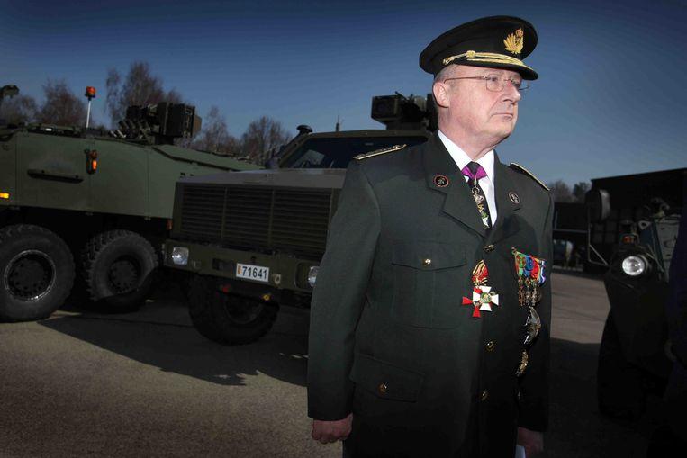 Luitenant-Generaal Charles-Henri Delcour Beeld BELGA