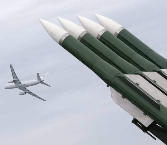 BUK-Raketsysteem, te zien tijdens een luchtvaartshow in Moskou.