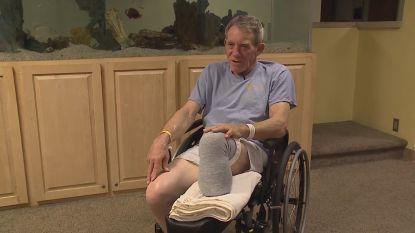 Boer uit Nebraska amputeert eigen been met zakmes om zijn leven te redden