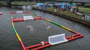 Waterpolo in Oude Leie-arm