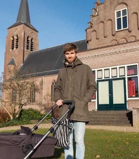 Leegstromende kerk hoopt straks op vier maanden oude Luuk