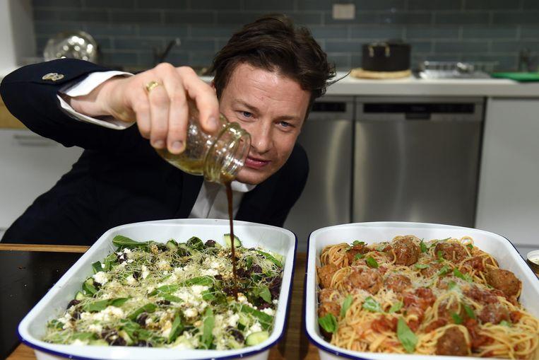 Ja, ook na Jamie Oliver worden er nog leuke kookboeken geschreven. Beeld EPA