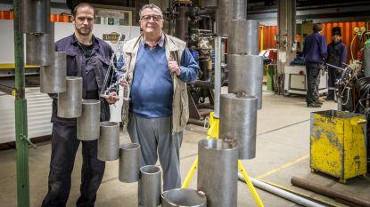 Stalen kunstwerk sluit feestelijkheden van 900 jarig bestaan district af
