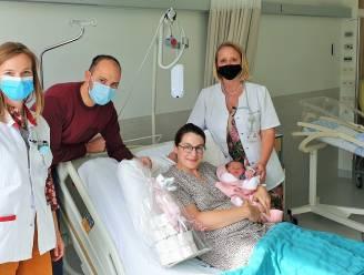 AZ Alma verwelkomt 500ste baby van dit jaar: Renée krijgt pampertaart cadeau