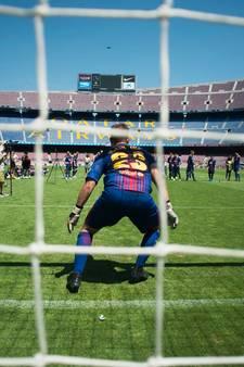Zeeuwse doelman mag trainen in Camp Nou en filmt met GoPro