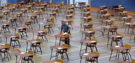 Examens beginnen in de Liemers: met zijn allen in de gymzaal, net als het hele jaar