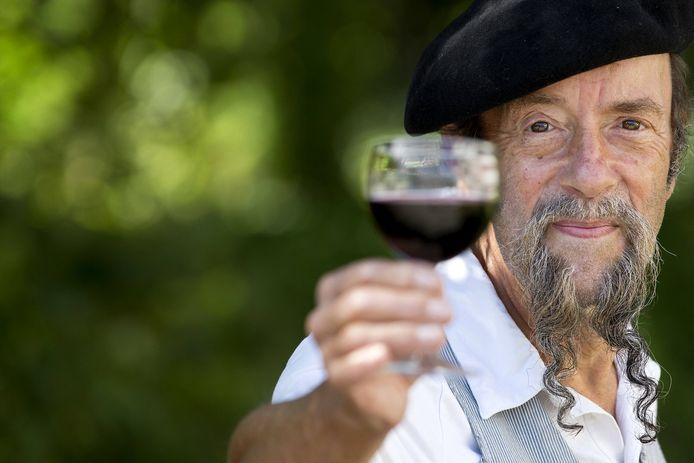 Ilja Gort is nu bekend als wijnmaker.