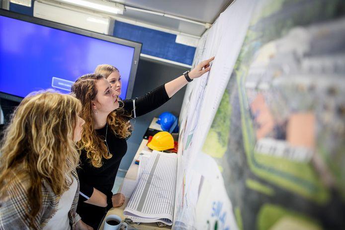 Ook deze studenten werken mee aan duurzame oplossingen bij  Reinten Infra.
