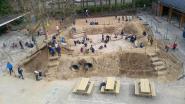 Speelplaats Sint-Lodewijk is nu avontuurlijke heuvelring