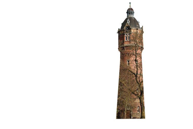Na de ontdekking van de gasbel in Slochteren werd de Zuidergasfabriek en daarmee de watertoren overbodig. Beeld Marc Driessen