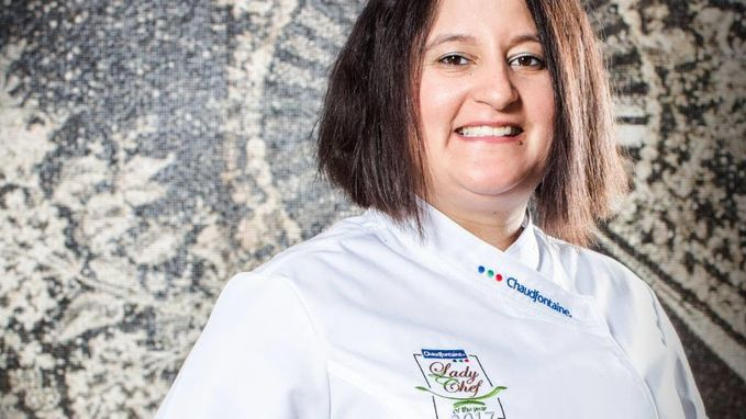 Laure Genonceaux van Brinz'L in Ukkel is Chaudfontaine Lady Chef of the Year