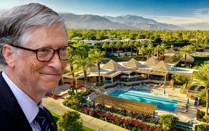 Bill Gates verblijft momenteel in Indian Wells volgens de Amerikaanse krant New York Post.