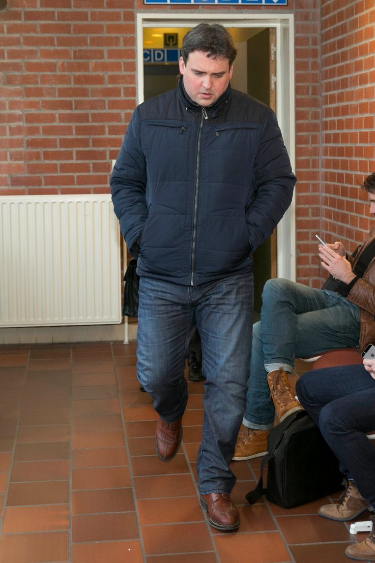 Peter Gyselbrecht. Beeld Photo News