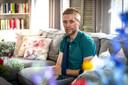 Profwielrenner Maurits Lammertink raakte onlangs zwaar gewond toen hij in Hengelo met zijn gezin een ijsje wilde gaan halen.