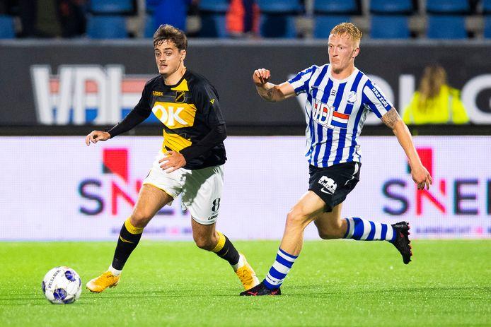 Kaj de Rooij keerde tegen FC Eindhoven weer terug na blessureleed.