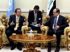 Ban Ki-moon brengt verrassingbezoek aan Bagdad