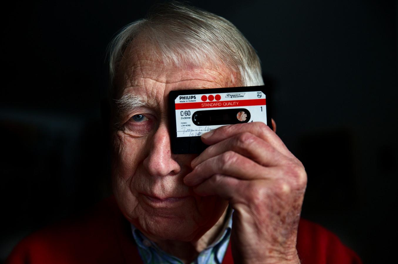 Bij Philips stond Lou Ottens aan het hoofd van de ontwikkeling van het cassettebandje en de CD.