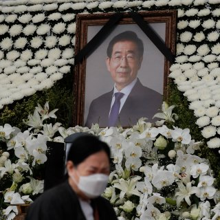Na beschuldiging seksueel misbruik willen inwoners Seoul niet voor begrafenis burgemeester betalen