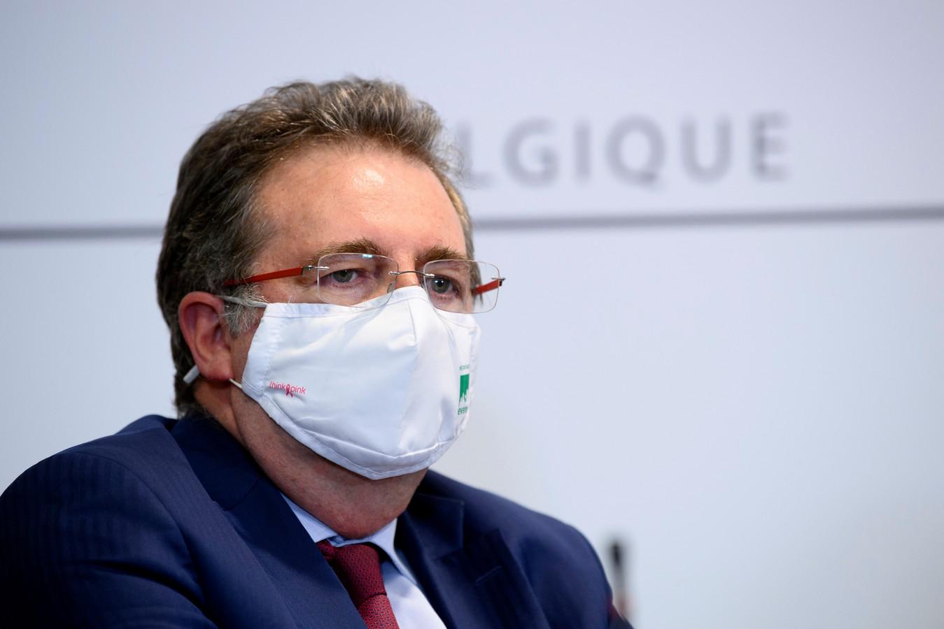 Le ministre-président bruxellois Rudi Vervoort (PS).