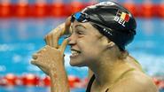 Lecluyse met Belgisch record naar halve finales 100m schoolslag